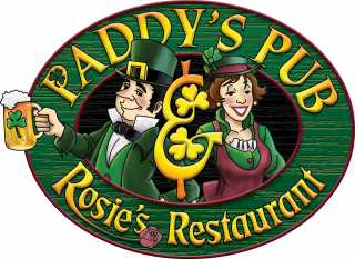 Logo for Paddy's Brewpub and Rosie's Restaurant