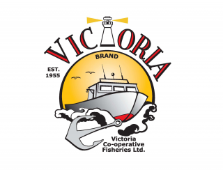 Logo for Victoria Co-op Fisheries Ltd.