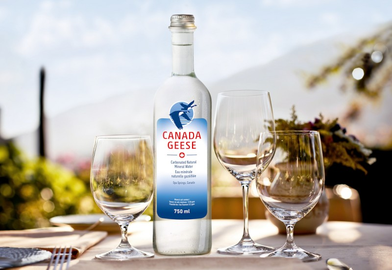 Canada Geese Mineral Water