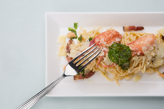 Lobster Carbonara