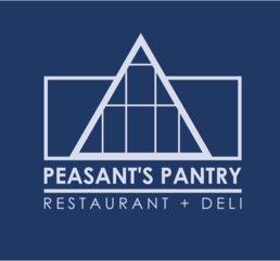 A photo of Peasant's Pantry logo